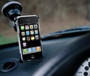 iPhone 3G Autohalterung